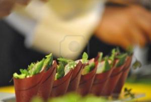 espectaculares tapitas vegetales en congreso gastronomico