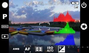 app con histograma incluido