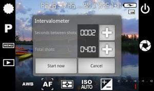 intervalomentro para hacer time lapse