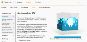 desarrollo de software movil con android developers website
