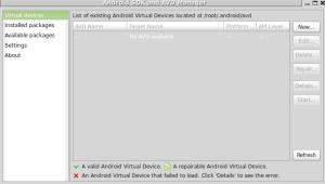 android skd para desarrollo interface