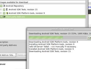 instalacion de repositorios android en linux