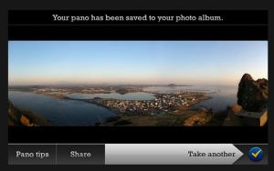 imagen de la interface de pano