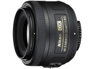 nikon 35 m.m. lente focal fija