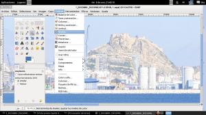 220 megabytes fotografia panoramica de alicante